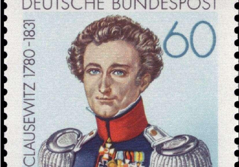 Καρλ φον Κλαούζεβιτς (1780-1831). Γερμανικό γραμματόσημο