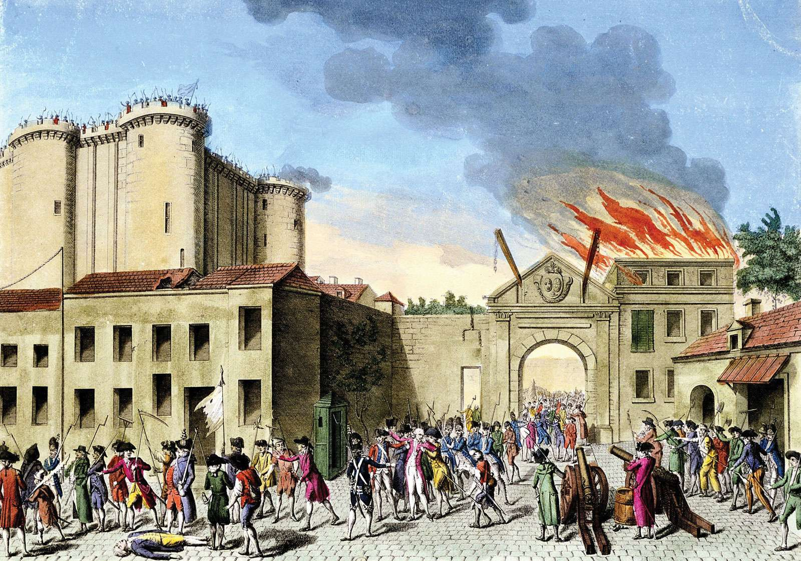 Άλωση της Βαστίλης, 14 Ιουλίου 1789