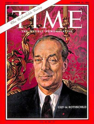 Ρότσιλδ, εξώφυλλο στο περιοδικό TIME