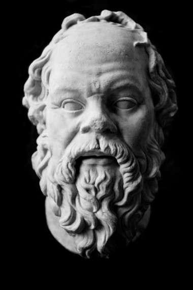 Σωκράτης, αντίγραφο από έργο, μάλλον, του Λύσιππου (1ος αιώνας) - Λούβρο