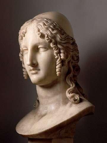Antonio Canova. Bust of Helen (1807). Copenghagen museum