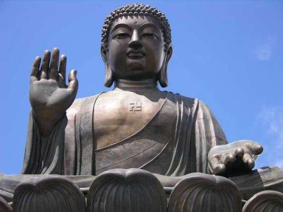 Βουδιστικό άγαλμα στο Χονγκ Κονγκ
