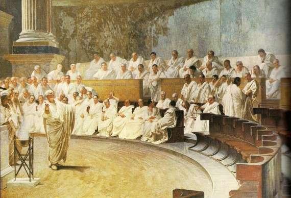 Για τους Ρωμαίους, το κύρος, η αυθεντία της συγκλήτου (auctoritas senatus), αποτελούσε κύριο στοιχείο της πολιτικής ζωής.