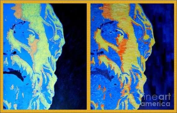 Ana Maria Edulescu - Philosopher Socrates 2