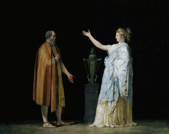 Antonio Canova (1757-1822) - Socrates and Philosophy