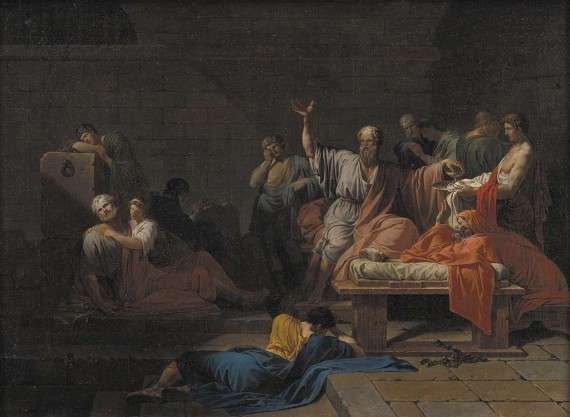 Jean-François Pierre Peyron - The Death of Socrates (1787)