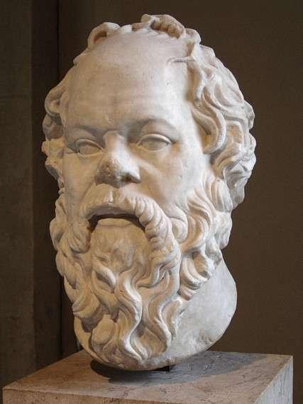 Σωκράτης, αντίγραφο από έργο μάλλον του Λύσιππου (1ος αιώνας) - Λούβρο