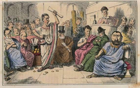 Η Ρωμαϊκή Σύγκλητος
