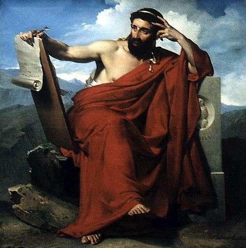 Merry-Joseph Blondel, 1781–1853, « Solon, Législateur d'Athènes »