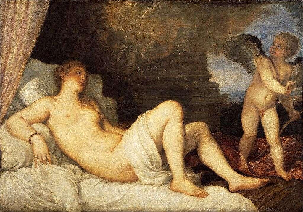 Δανάη και Έρως (1544)