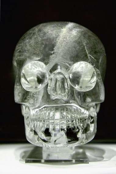 Ένα κρυστάλλινο κρανίο στο Βρετανικό Μουσείο