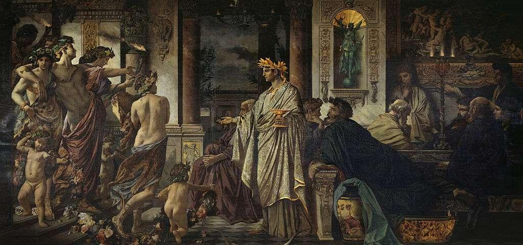 Anselm Feuerbach - Plato's Symposium (1873)