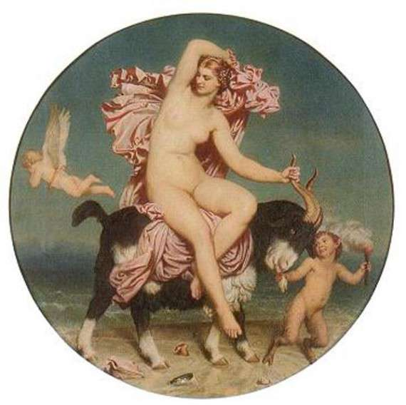 Charles Gleyre – Πάνδημη Αφροδίτη (1854)