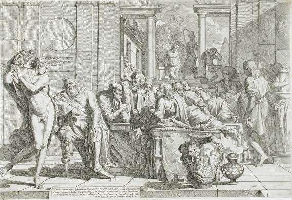 Pietro Testa - The Symposium of Plato (1648)