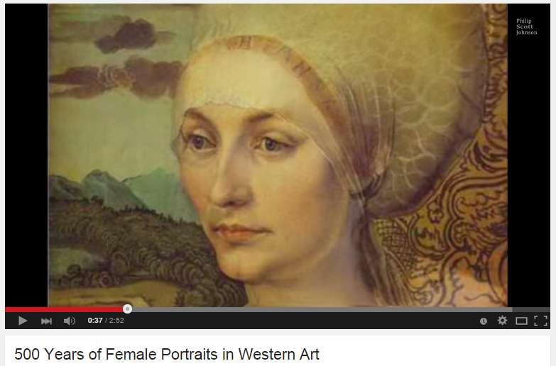 500 χρόνια γυναικείες μορφές στη δυτική τέχνη