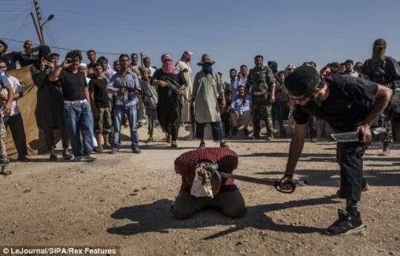 Αποκεφαλισμός στη Συρία, 2015