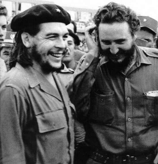 Ο Φ. Κάστρο με τον Τσε Γκεβάρα πριν διαφωνήσουν
