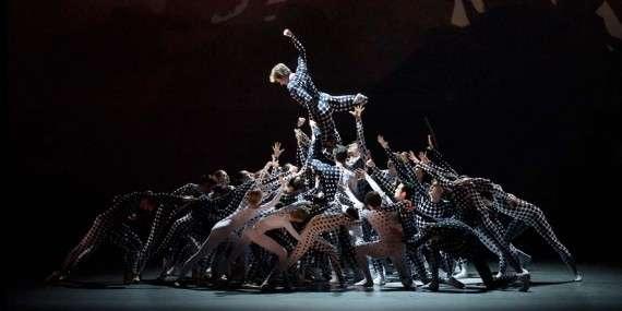 The ballet Les Bosquets