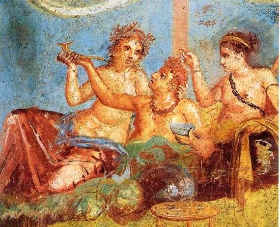 Τοιχογραφία στην Πομπηία