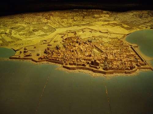 Αναπαράσταση της πόλεως της Μασσαλίας