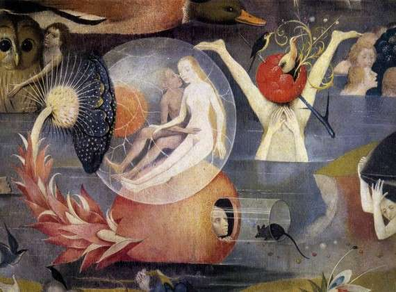 Hieronymus Bosch, The Garden of Earthly Delights (λεπτομέρεια)