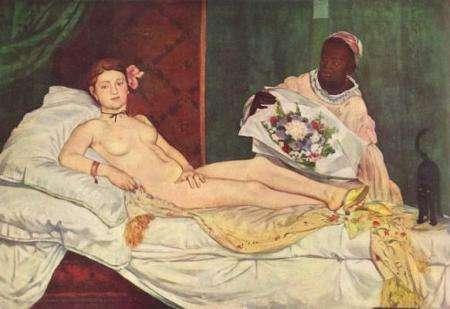 Οδαλίσκη του Edouard Manet.