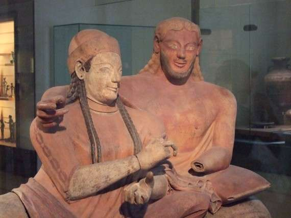 Etruscan couple (Louvre, Room 18)