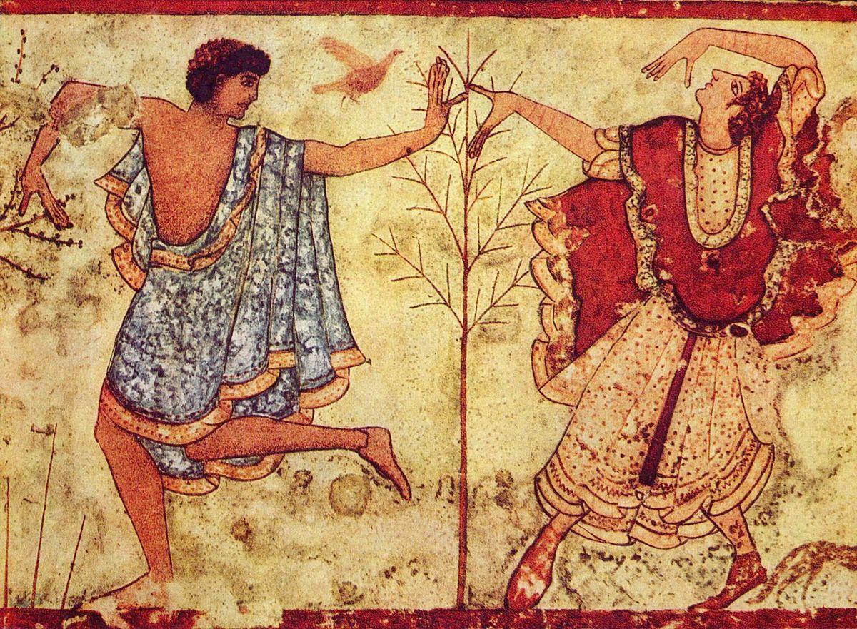 Οι Ετρούσκοι μπορεί να ήταν εξελιγμένοι πολιτιστικά, αλλά δεν ήταν πάντα υποδείγματα ευγένειας. Πολλές φορές επιδίδονταν σε ανθρωποθυσίες, κυρίως αιχμαλώτων πολέμου, όπου αργότερα οι μάντεις τους διάβαζαν τα σπλάχνα τους και προμήνυαν το μέλλον.