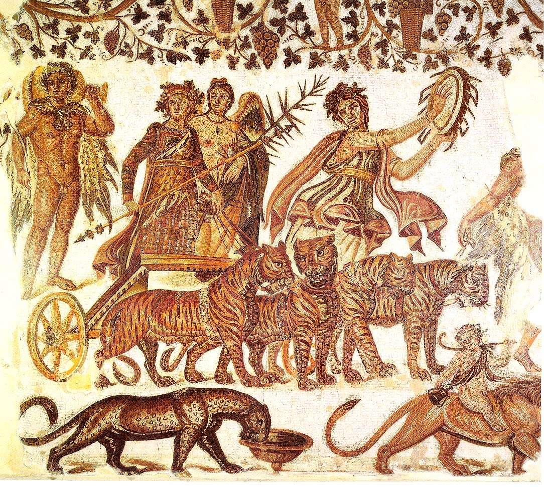 An epiphany of Dionysus. Ο Θεός Διόνυσος