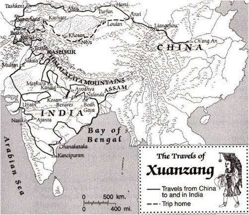 Η ανακάλυψη της Ινδίας από τους Κινέζους