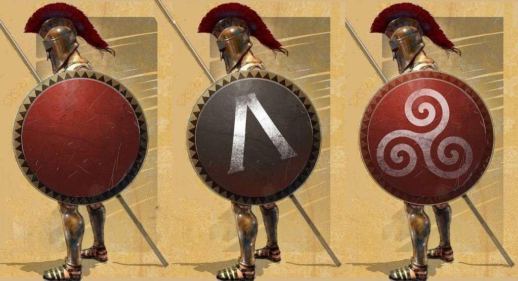 Αρχαίοι Έλληνες οπλίτες