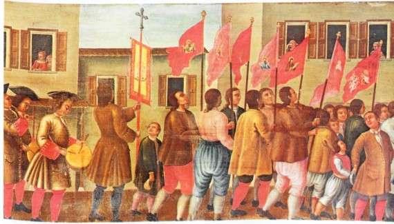Άρχοντες, αστοί στη Ζάκυνθο. Πηγή: Ιστορία του Ελληνικού Έθνους, Εκδοτική Αθηνών