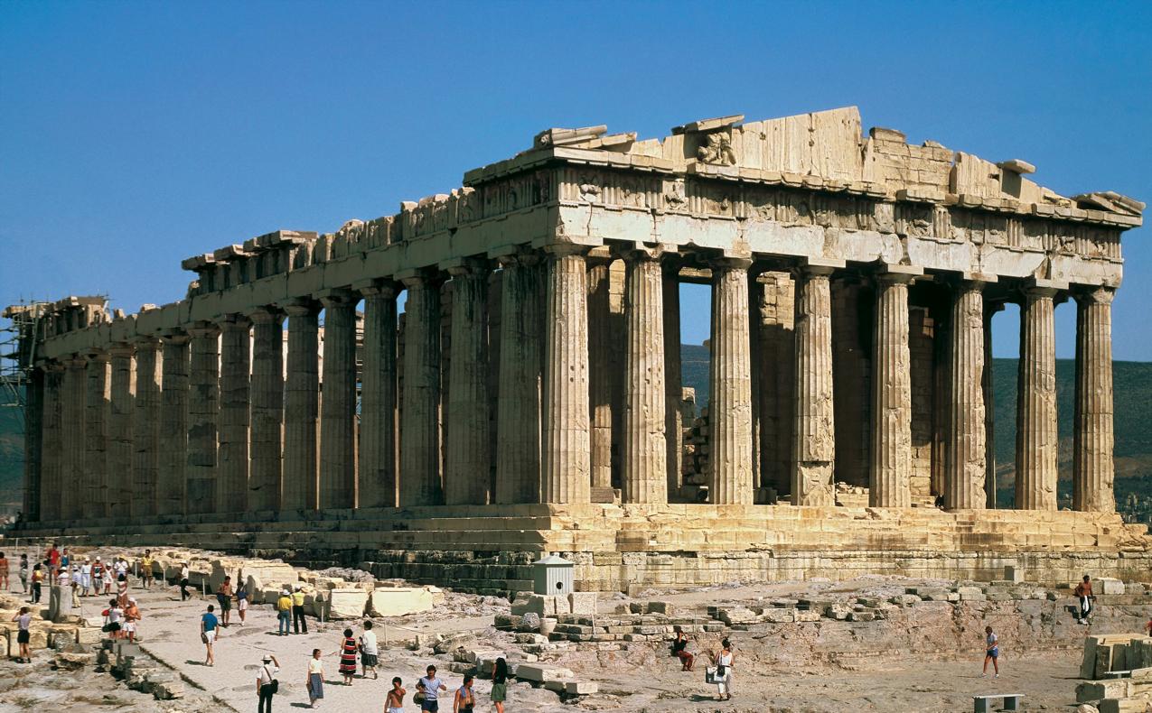 Ο Παρθενώνας στην Αθήνα