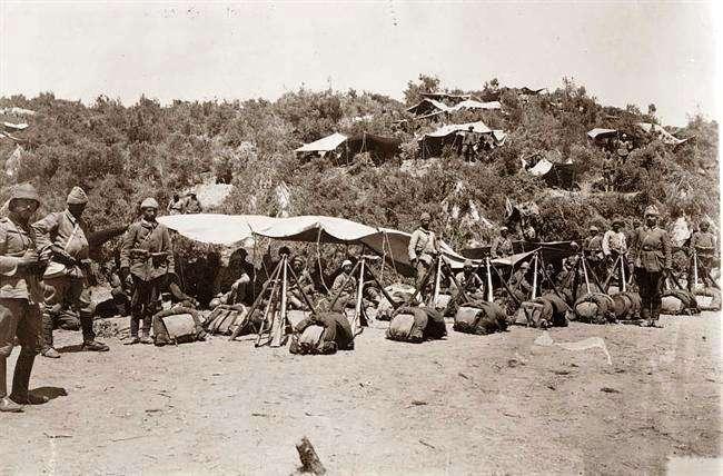 Τούρκοι στρατιώτες υπερασπιστές της Καλλίπολης