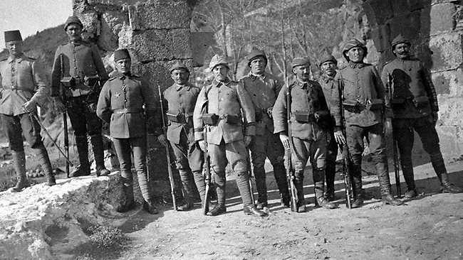 Τούρκοι στρατιώτες πριν την απόβαση