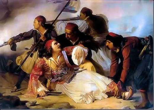 Λουδοβίκος Λιπαρίνι: Ο θάνατος του Μάρκου Μπότσαρη