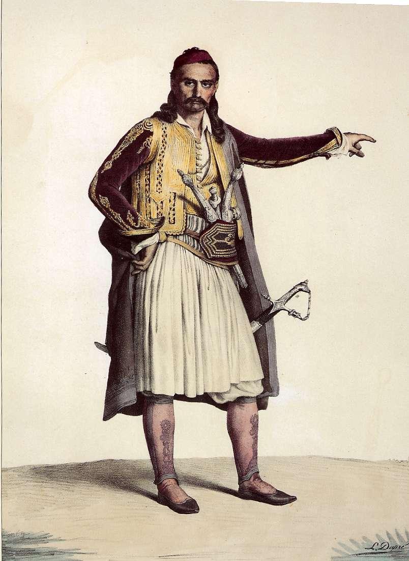 Louis Dupré. Σουλιώτης πολεμιστής
