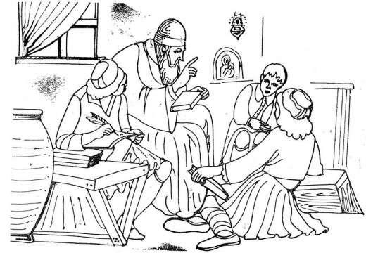 Όποιος πλήρωνε, είχε σχολείο. Απλώς το σχολείο, φανερό πάντα, δεν ήταν είδος πρώτης ανάγκης. Επειδή λοιπόν τα λίγα κολλυβογράμματα τα ήξεραν οι ιερείς, εύκολα ταυτίστηκε η εκκλησία και το μοναστήρι με το σχολειό.
