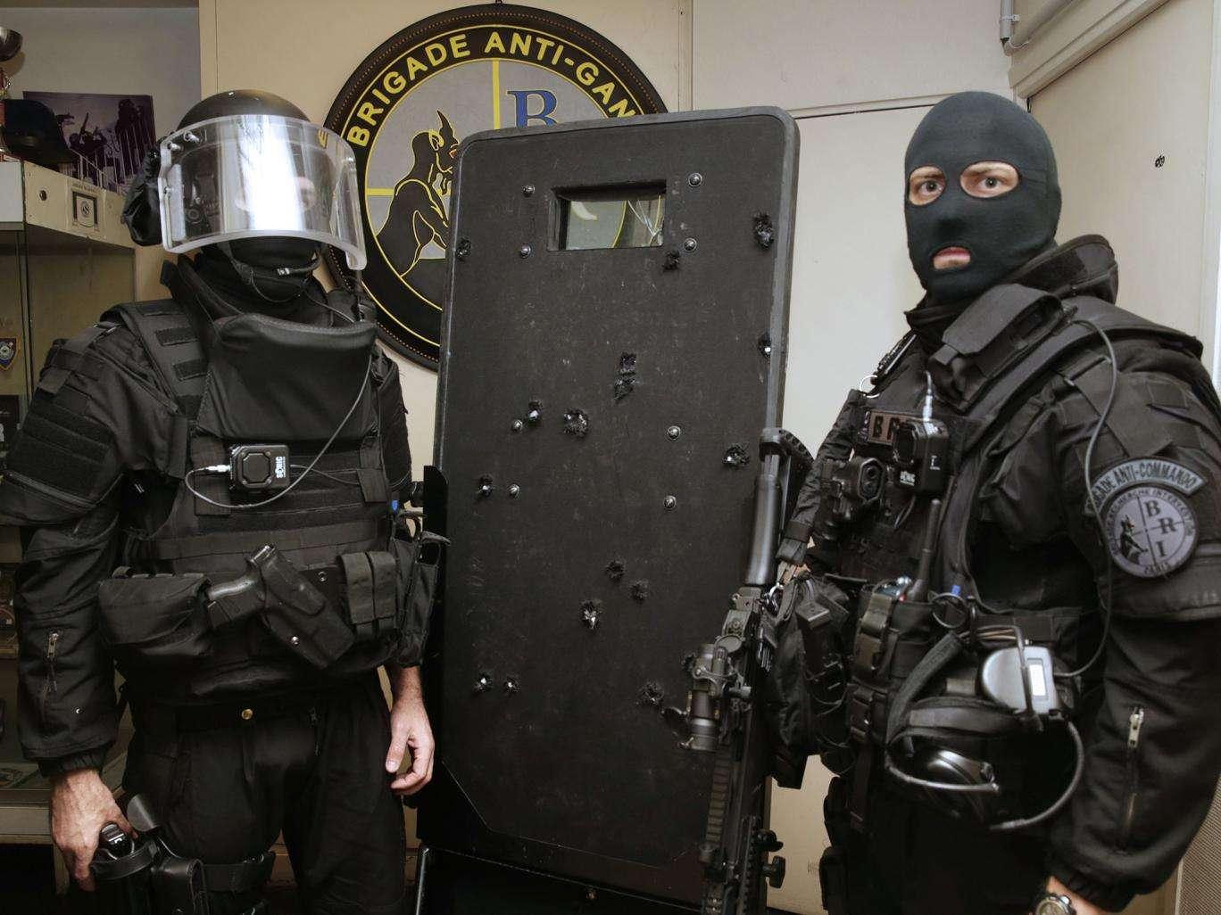 Αστυνομικές δυνάμει στο Παρίσι