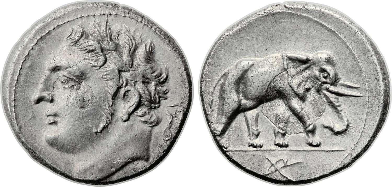 Νόμισμα της αρχαίας Καρχηδόνας