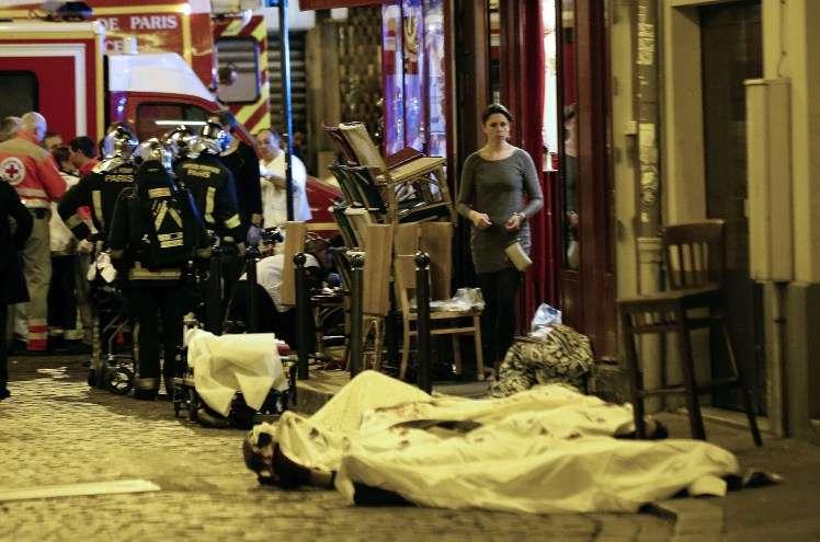 τρομοκρατική επίθεση στο Παρίσι