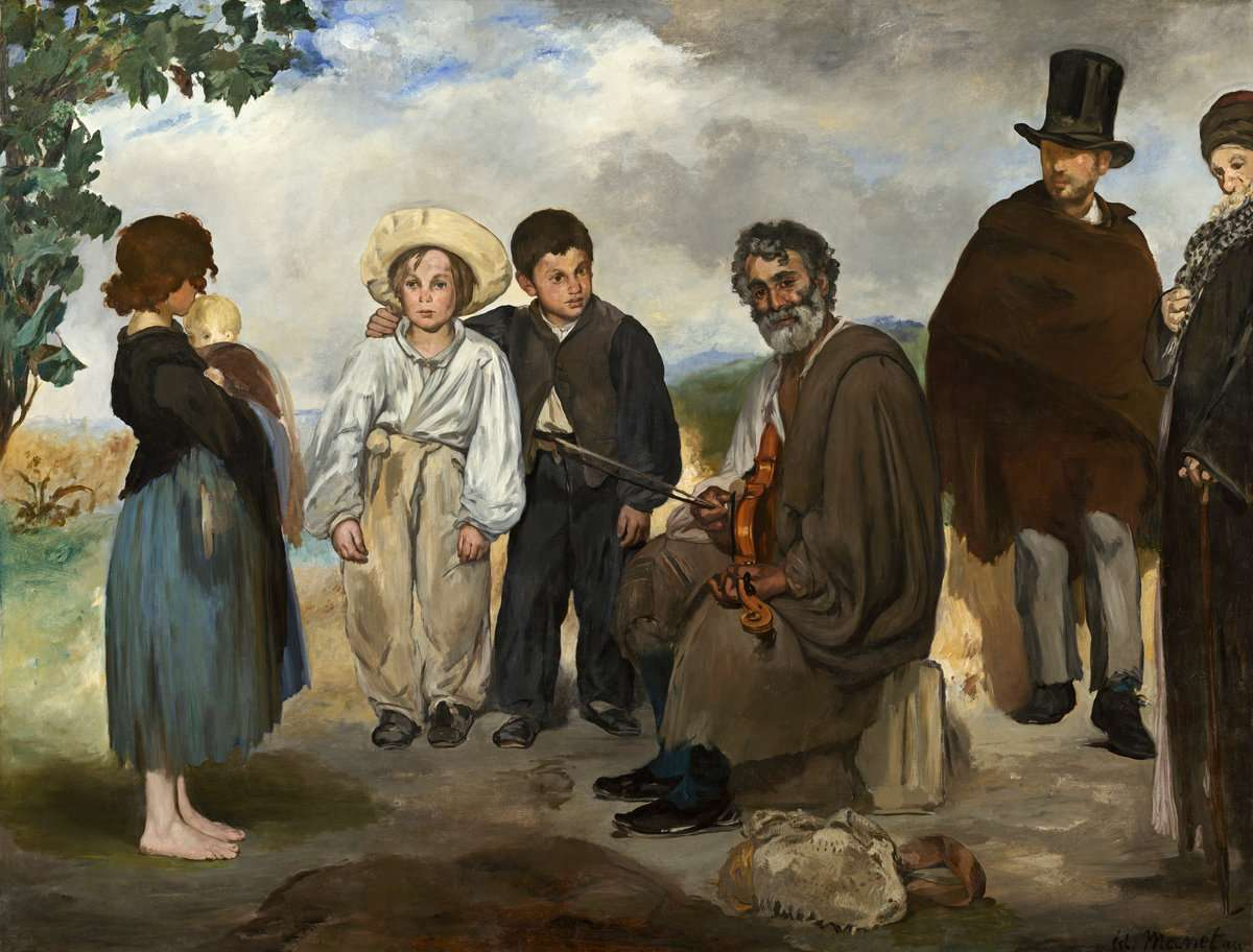 Edouard Manet The Old Musician 1862