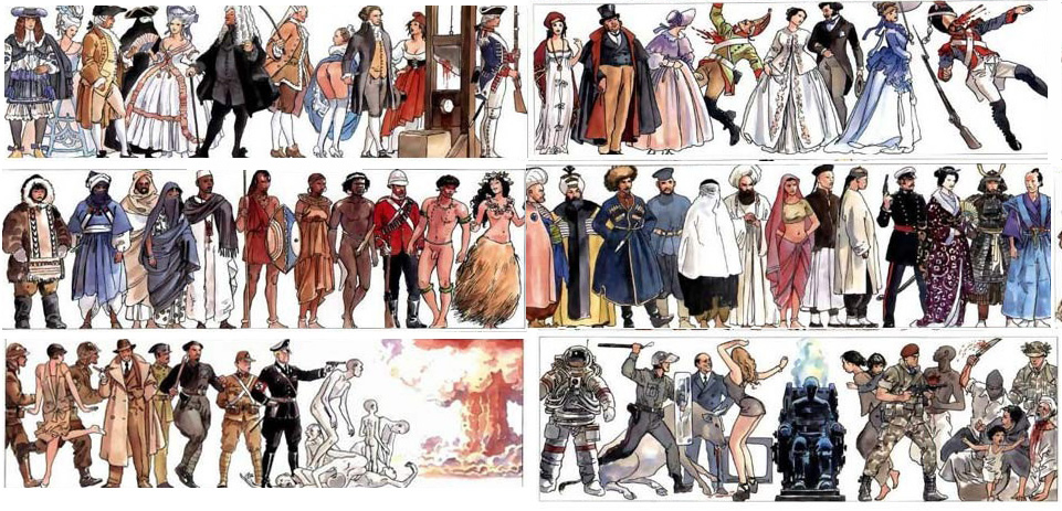 History of the World by Milo Manara