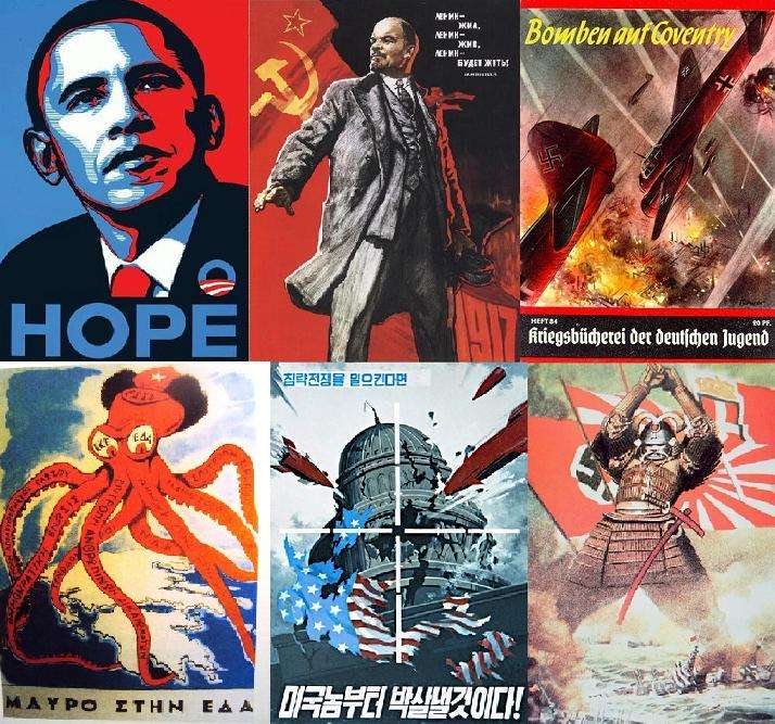 Ο 20ος αιώνας μέσα από 100 πολιτικές αφίσες