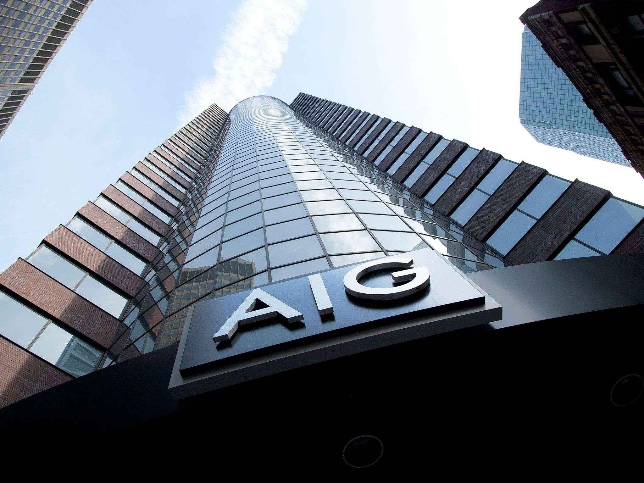 Ο κολοσσός της AIG άρχισε να αντιμετωπίζει προβλήματα με επισφαλή δάνεια που είχε παραχωρήσει.