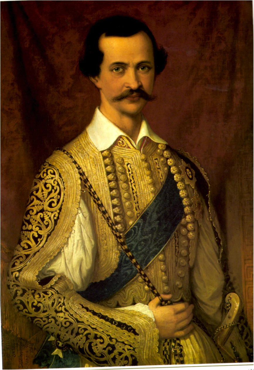 Albert Henry Payne, Όθων ο βασιλεύς της Ελλάδος. Γύρω στα 1845