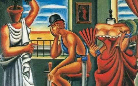 Πίνακας του Νίκου Εγγονόπουλου