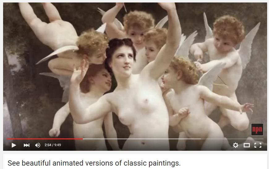 Δείτε: κλασικοί πίνακες ζωγραφικής ζωντανεύουν στην οθόνη σας!