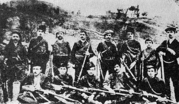 Πόντιοι μαχητές, στις αρχές του 20ου αιώνα