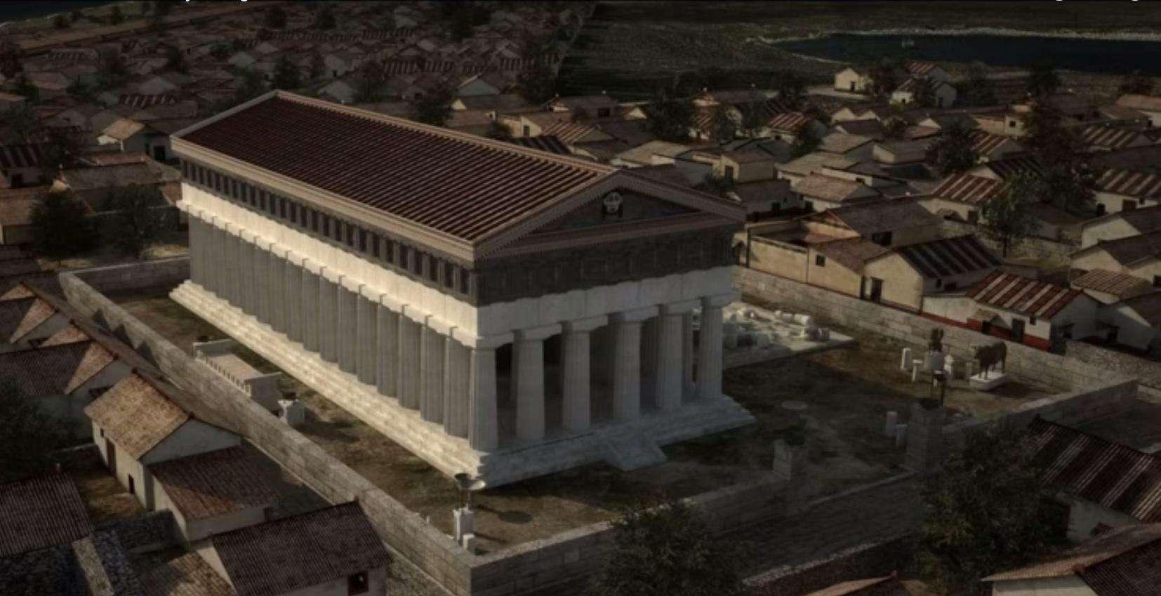 Ψηφιακή αναπαράσταση των αρχαίων Συρακουσών